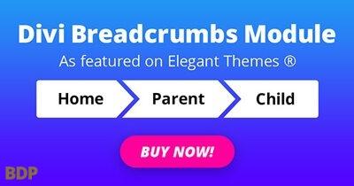 Divi Breadcrumbs ModulePlugin 2