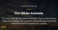 Divi Slider Animate Plugin