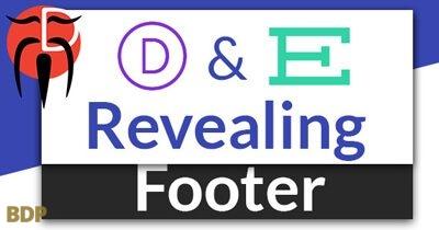 Revealing Footer Plugin