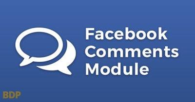 Facebook Comments Module Plugin