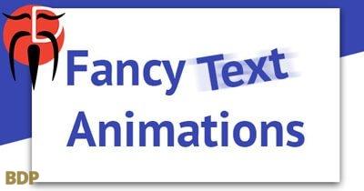 Fancy Text Plugin