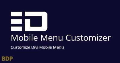 Mobile Menu Customizer Plugin
