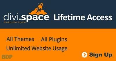 Divi Space Lifetime Access