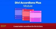 Divi Accordions Plus Module Divicio