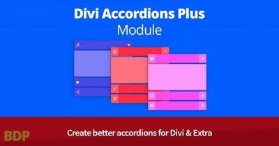 Divi Accordions Plus Module Divicio