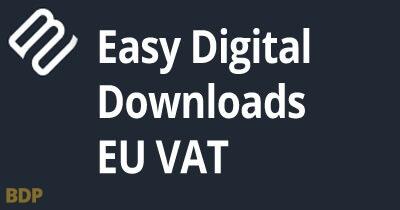 Easy Digital Downloads Eu Vat Plugin