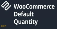 Woocommerce Default Quantity Plugin
