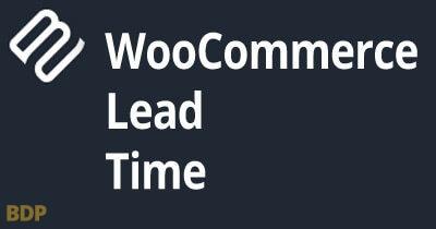 Woocommerce Lead Time Plugin